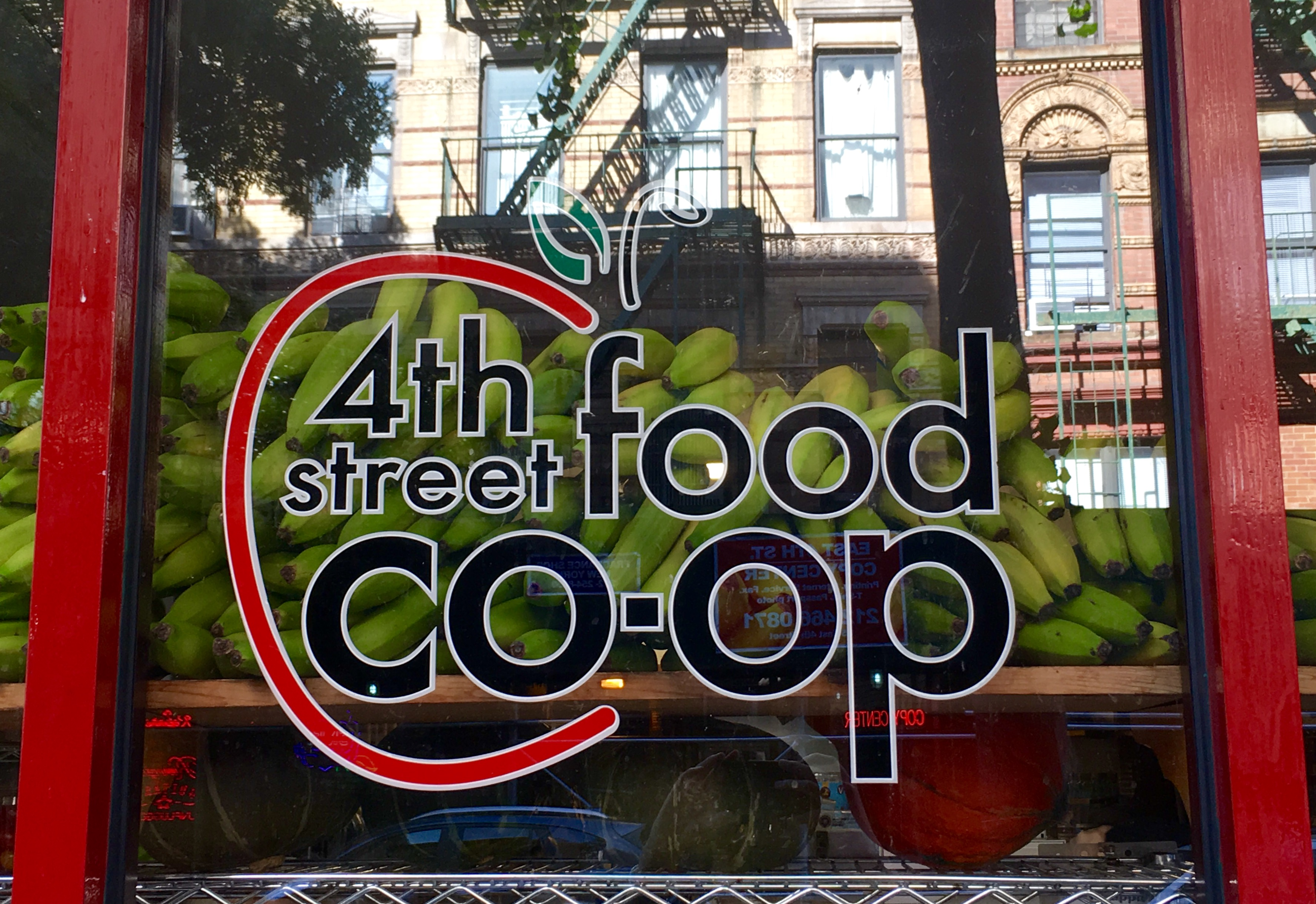 4th Street Food Coop Sign