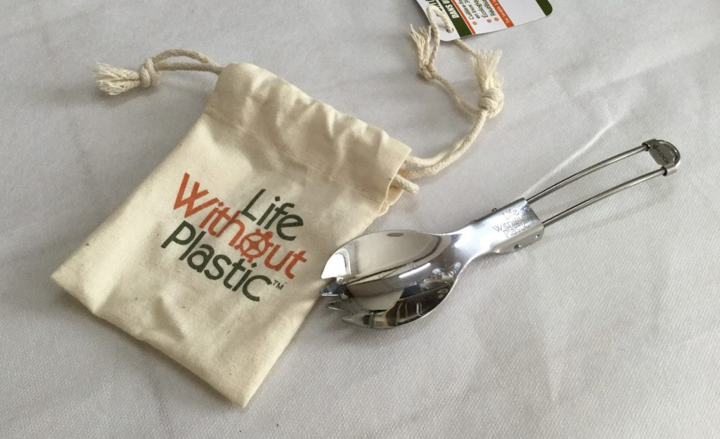 Life Without Plastic spork and pouch